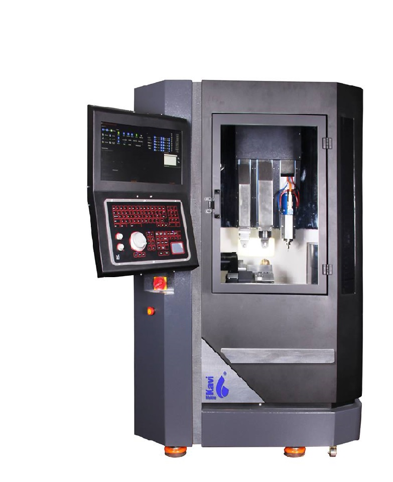 12 Axis CNC Processing Machine